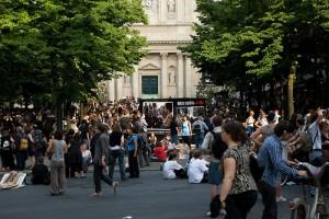 La place de la Sorbonne Crédit Flickr